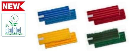 rodzaje kolorowych mopów na rzep z mikrofibry do dezynfekcji
