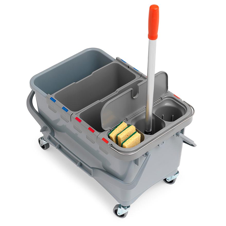 profesjonalny system do mycia i czyszczenia wc z pojemnikiem