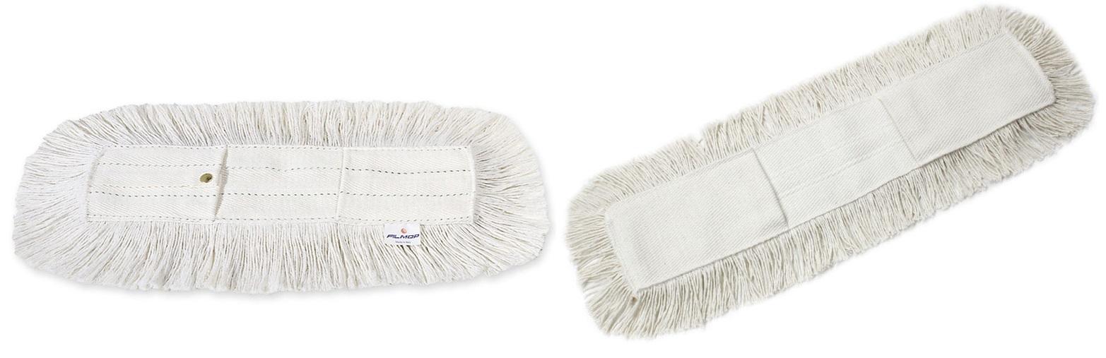 Profesjonalny mop z bawełny do czyszczenia na sucho