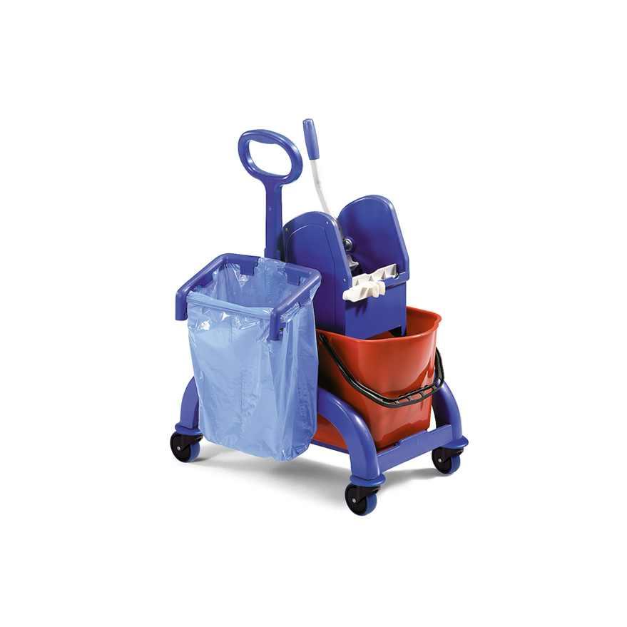 wózek do sprzątania z uchwytem na worek