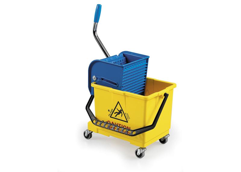 profesjonalny wózek jednokomorowy do sprzątania