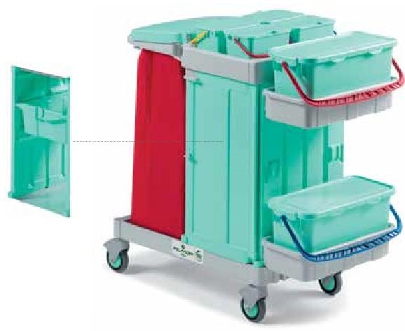 profesjonalny  wózek systemowy filmop do szpitali