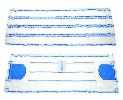 mop kobi z mikrofibry z zaczepami i kieszeniami