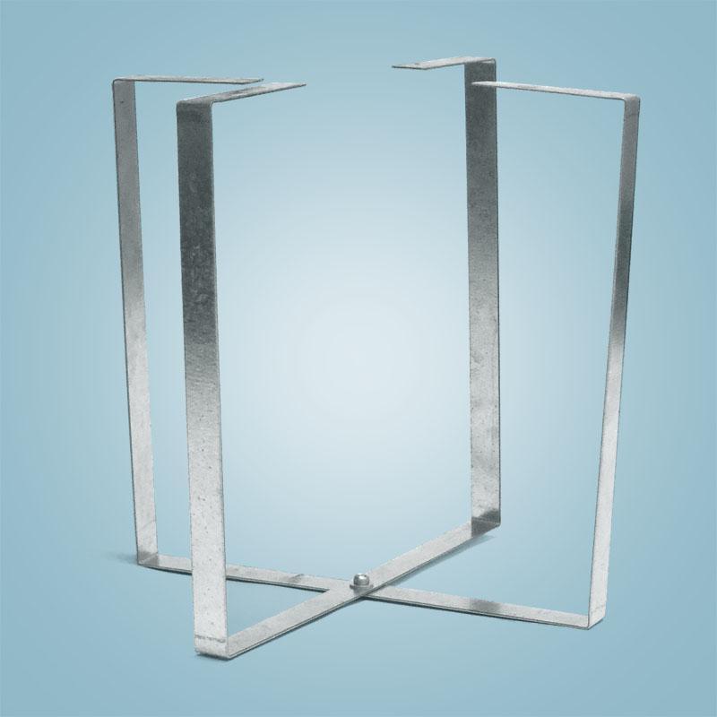 specjalny stelaż do filtra poliestrowego lub nylonowego