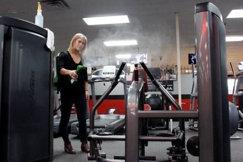 sanityzacja i dezynfekcja siłowni