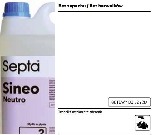 profesjonalne mydło w płynie które nie zawiera barwników ani zapachu karta charakterystyki