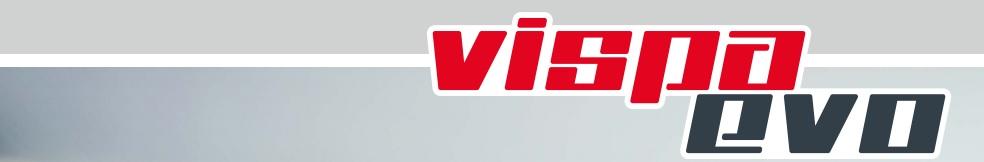 baner średniej maszyny do mycia podłóg VISPA EVO