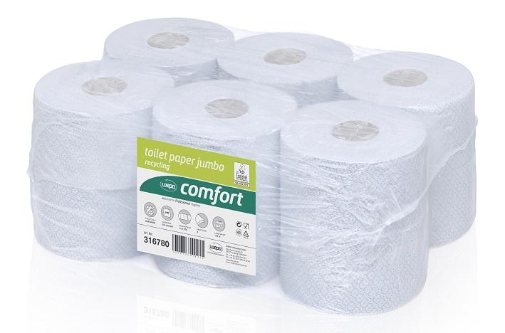 papier toaletowy wepa 19 cm średnicy makulatura