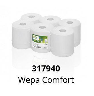 ręczniki w roli wepa comfort