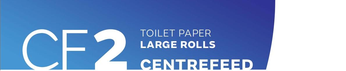 baner papier toaletowy jumbo centralnego dozowania