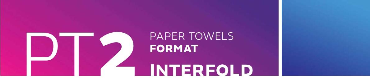 baner dozownik pt2 interfold na ręczniki listkowe pureco.pl