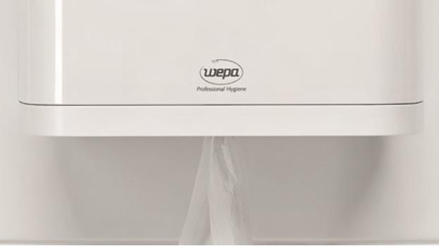 nowoczesny system centralnego dozowania ręczników papierowych