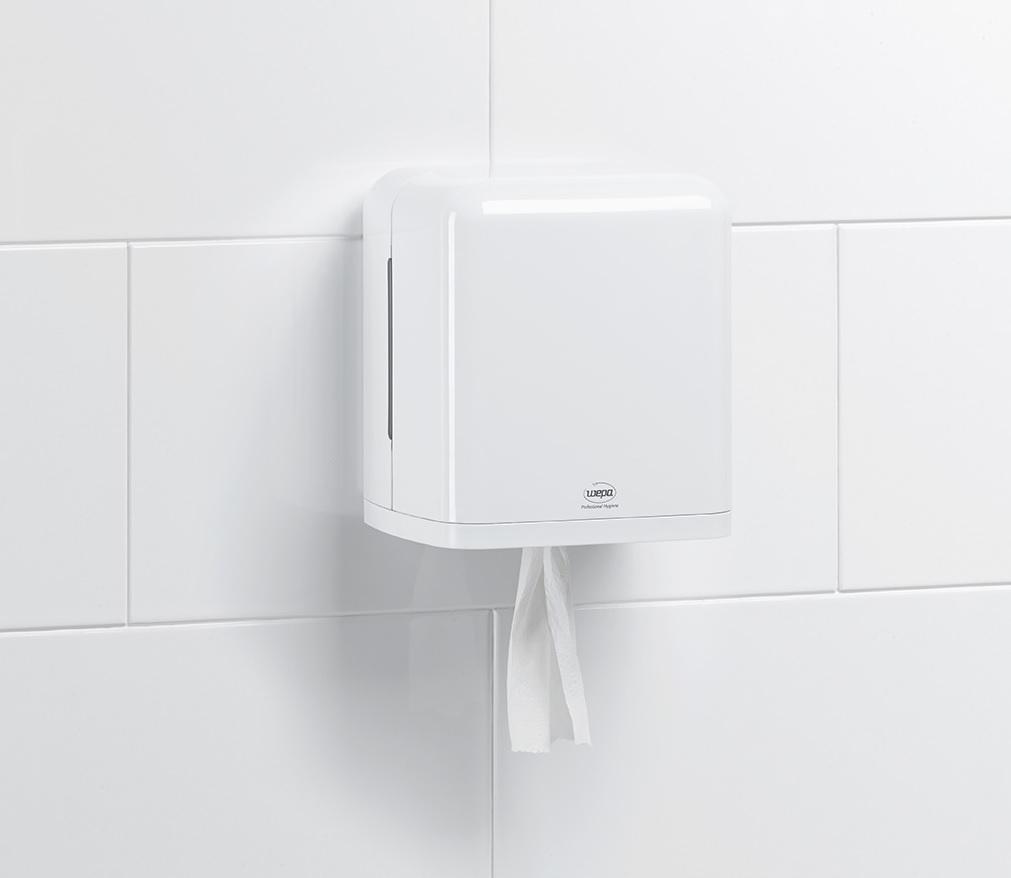 dozownik do centralnego dozowania ręcznika w roli wepa