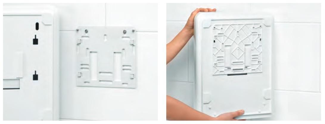 nowoczesne mocowanie dozownika do ręcznikow wepa