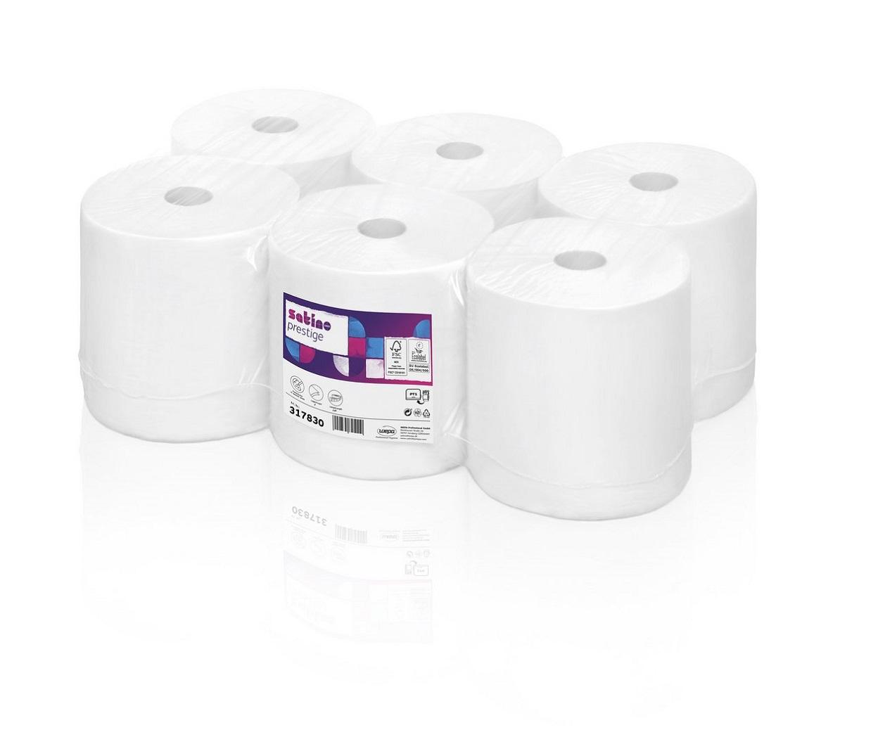 wysokiej jakośći ręcznik papierowy z białej celulozy