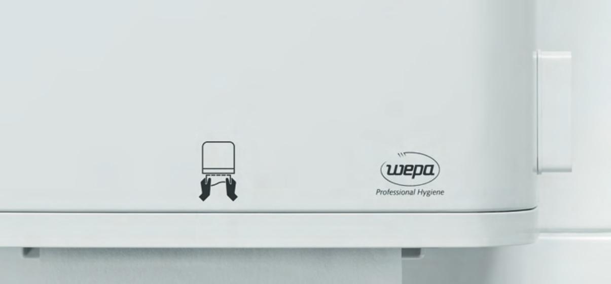 nowoczesny system dozowania ręczników papierowych