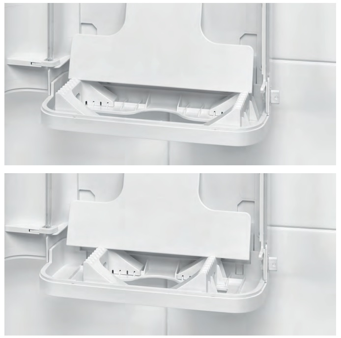 nowoczesny system do ustawiania wielkości zz, do wszystkich papierowych ręczników składanych