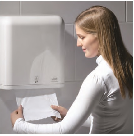 automatyczny dozownik do ręcznika w roli wepa auto cut