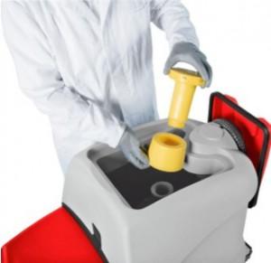 Czyszczenie elementów filtrujących maszyny czyszczącej