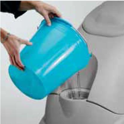 sposób nalewania detergentu do maszyny czyszczącej