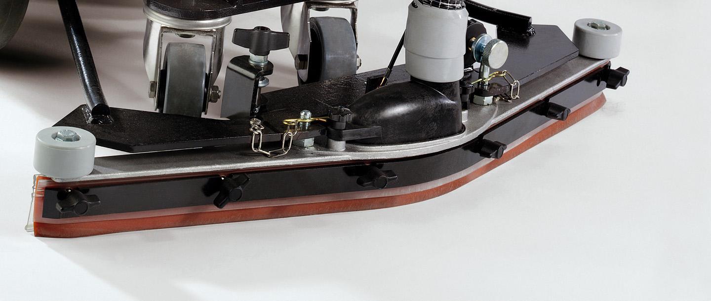ssawa zbierająca w maszynie czyszczącej