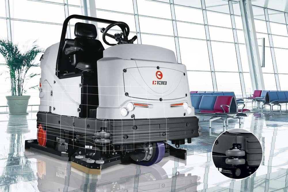 jednolita zabudowa maszyny do czyszczenia podłóg