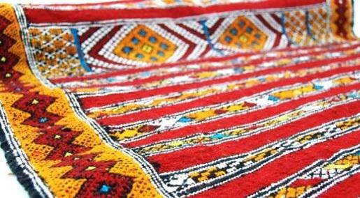 wełniany dywan