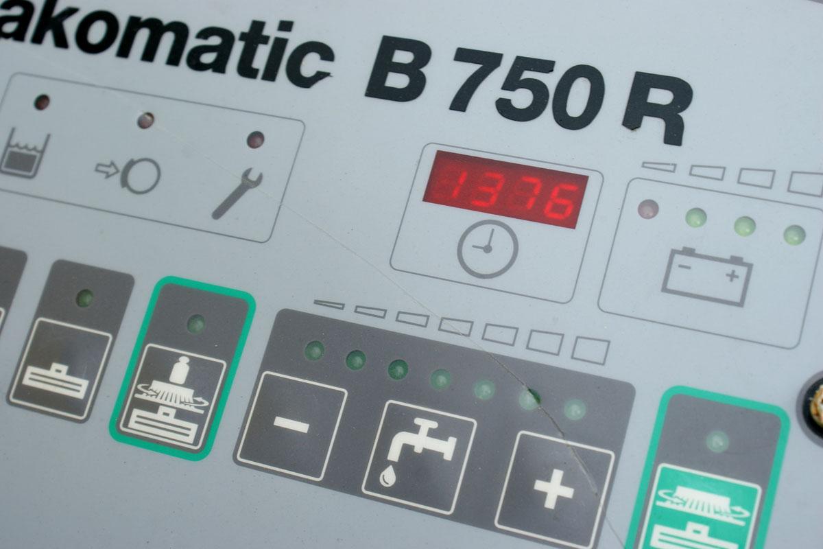 panel sterujący hako 750 b