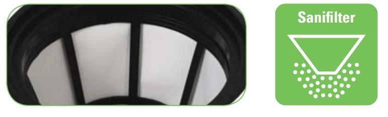 wydajny filtr antybakteryjny