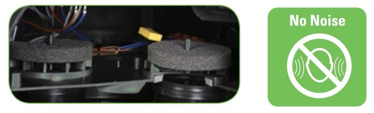 filtry do wygłuszenia silnika w odkurzaczu