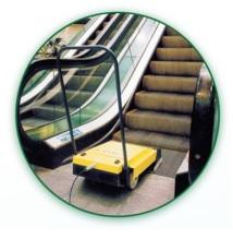 profesjonalna maszyna do czyszczenia schodów