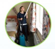 profesjonalny odkurzacz z systemem do trzepania dywanu